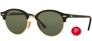 Okulary Ray-Ban Clubround RB4246-901/58