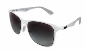 Okulary Ray-Ban Wayfarer Flat Metal RB3521-163/11