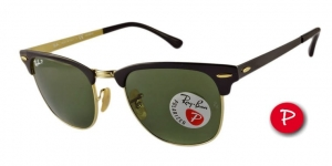 Okulary Ray-Ban® Clubmaster Metal RB3716-187/58